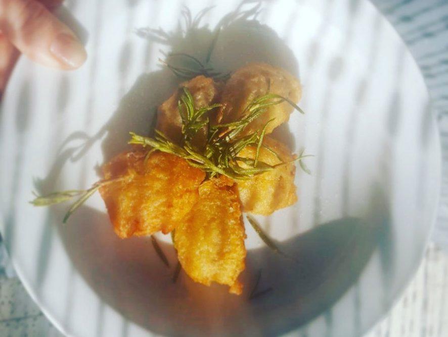 Frittelle di risotto ai funghi