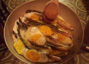 Piatto Libera Osteria - Uova e Asparagi